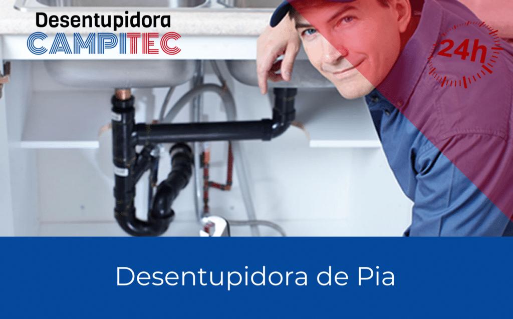 Desentupidora de Pia